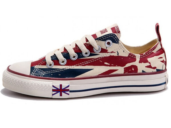 Converse Chuck Taylor All Star с британским флагом (35-39)