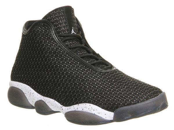 Кроссовки Nike Air Jordan Horizon черные с белым мужские