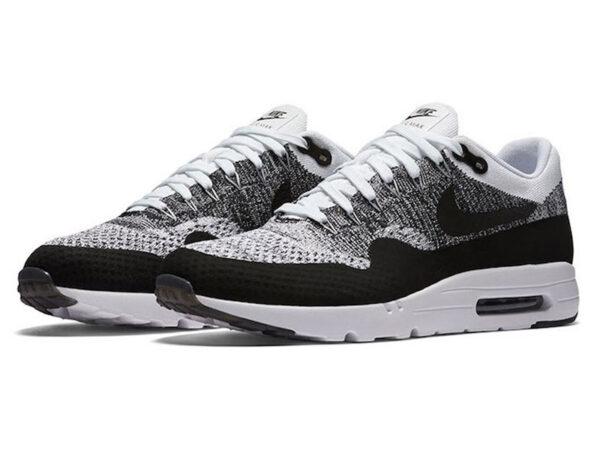 Nike Air Max 87 белые с черным (40-45)
