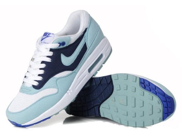 Nike Air Max 87 голубые с синим (35-40)