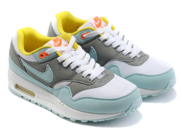 Nike Air Max 87 серо-бирюзовые (35-40)