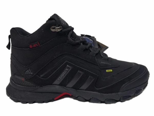 Adidas Terrex Seamless Mid на меху черные (40-46)