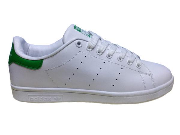 Adidas Stan Smith белые с зеленым (35-45)