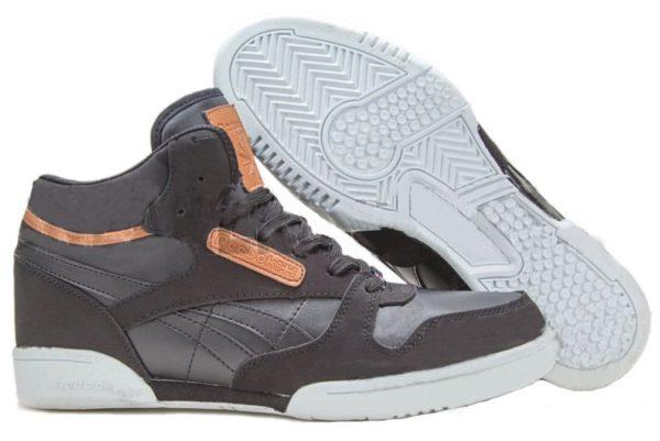 Reebok Classic Leather Mid Black черные (40-45)