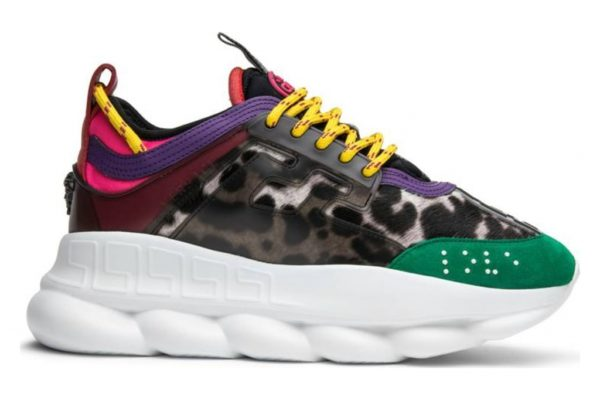 Кроссовки Versace Chain Reaction разноцветные 35-39