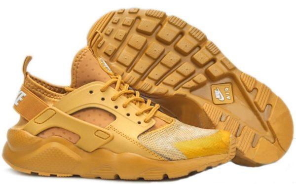 Nike Air Huarache Ultra золотые (36-40)
