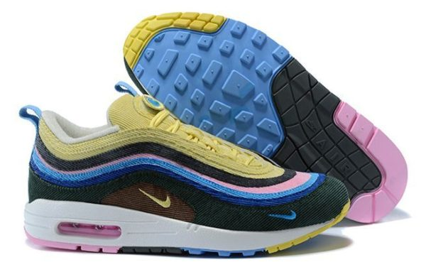 Nike Air Max 1/97 (Light Blue/Fury Lemon) (36-44)