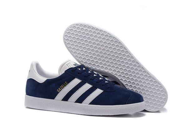 Adidas Gazelle синие (36-45)