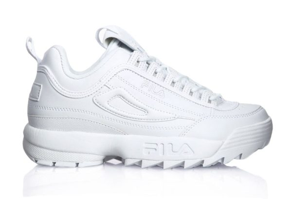 Fila Disruptor 2 All white белые (35-44)