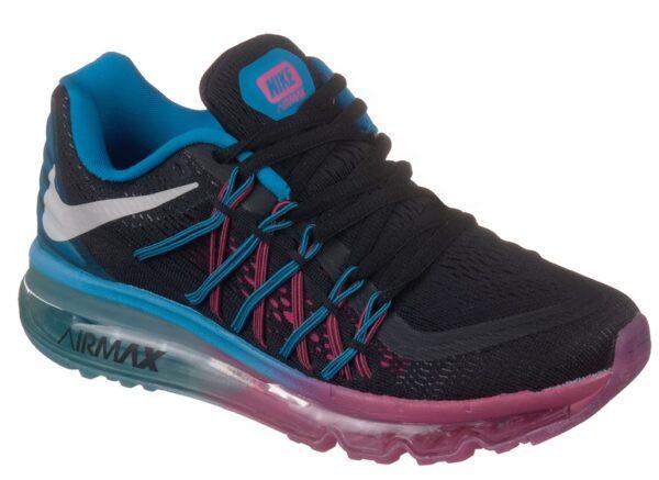 Кроссовки Nike Air Max 2015 сине-черные 35-40