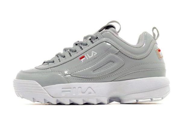 Fila Disruptor 2 серые Grey/White (35-39)