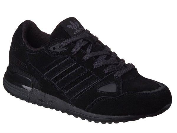 Adidas ZX 750 черные (40-45). Адидас zx 750