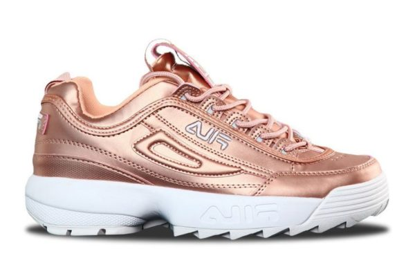 Fila Disruptor 2 Rose Gold золотые (35-39)