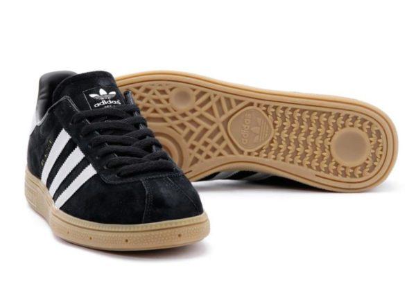 Adidas Munchen Black черные (40-44)