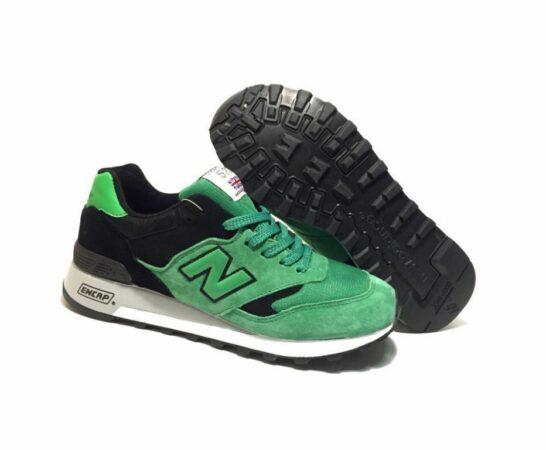 Кроссовки New Balance 577 черно-зеленые 40-44