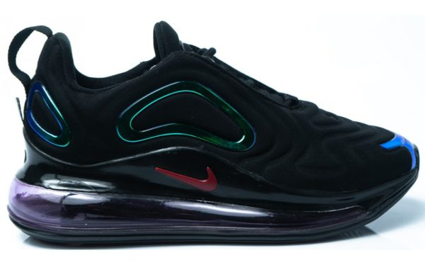 Nike Air Max 720 черные мужские (40-44)