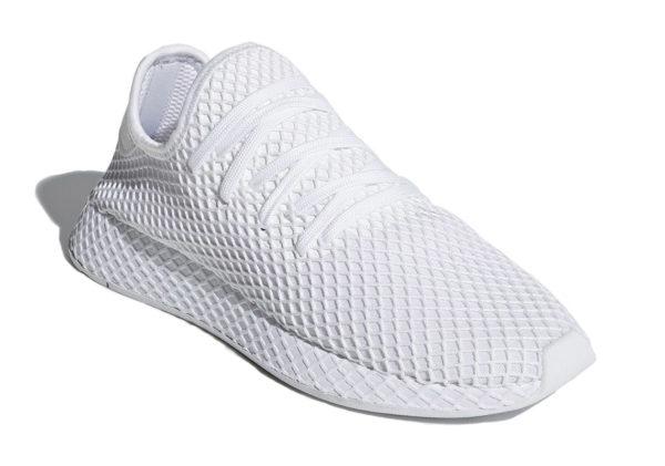 Adidas Deerupt Runner белые (40-44)