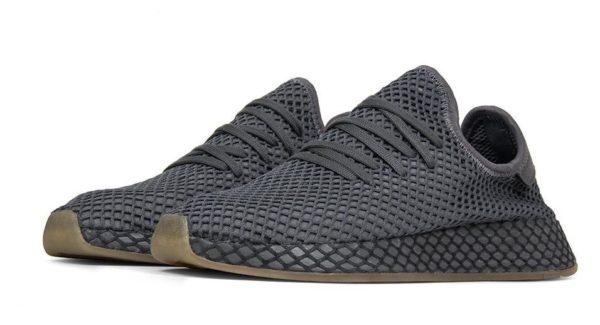 Adidas Deerupt Runner черные (40-44)