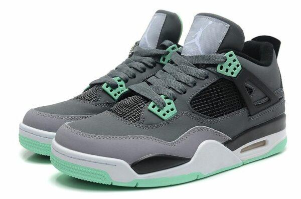 Nike Air Jordan 4 Retro серые (35-44)