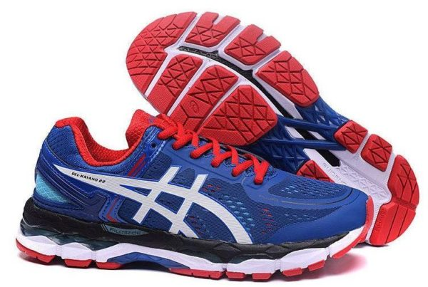 Asics Gel Kayano 22 (Blue/Red) синие 40-44