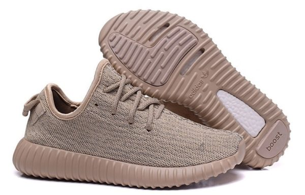 Adidas Yeezy Boost 350 (kanye west) Oxford Tan gold золотистый (36-45)
