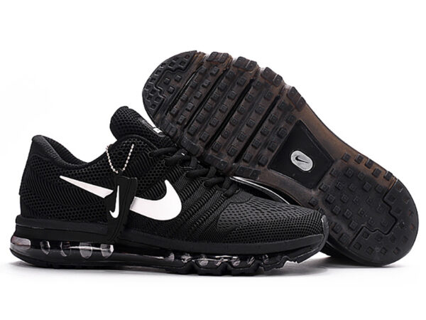 Nike Air Max 2017 сетка черные (40-44)