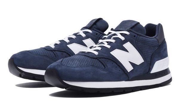 New Balance 995 синие с белым (40-44)