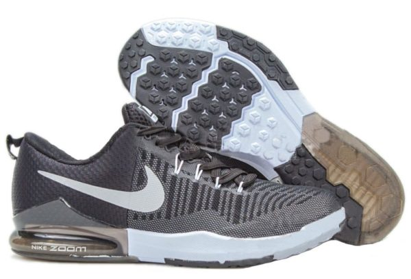 Nike Zoom Train Action черные с серебром (40-44)