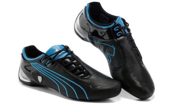 Puma Ferrari (Black/Blue) (43-44)