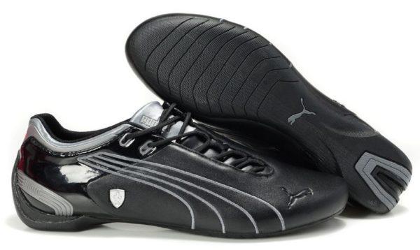 Puma Ferrari черные с серебром (43-44)