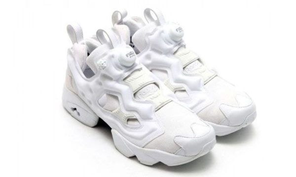 Reebok Insta Pump Fury «Triple White» белые (35-44)