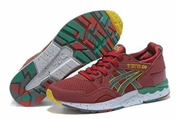 The Good Will Out x ASICS Gel Lyte 5 темно-красные (39-44)