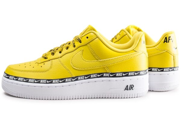 Nike Air Force 1 07 LV8 Lab Low жёлтые кожаные женские (36-40)