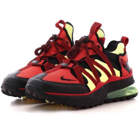 Nike Air Max 270 Bowfin черно-красные с бежевым мужские (40-44)
