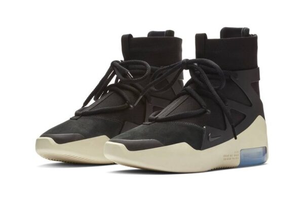 "Nike Air Shoot Around ""Fear of God"" черные с белым (40-44)"