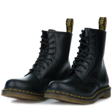 Ботинки Dr. Martens 1460 черные кожаные мужские-женские (35-44)