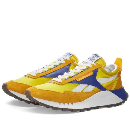 Reebok Classic Legacy желтые с синим мужские (40-44)